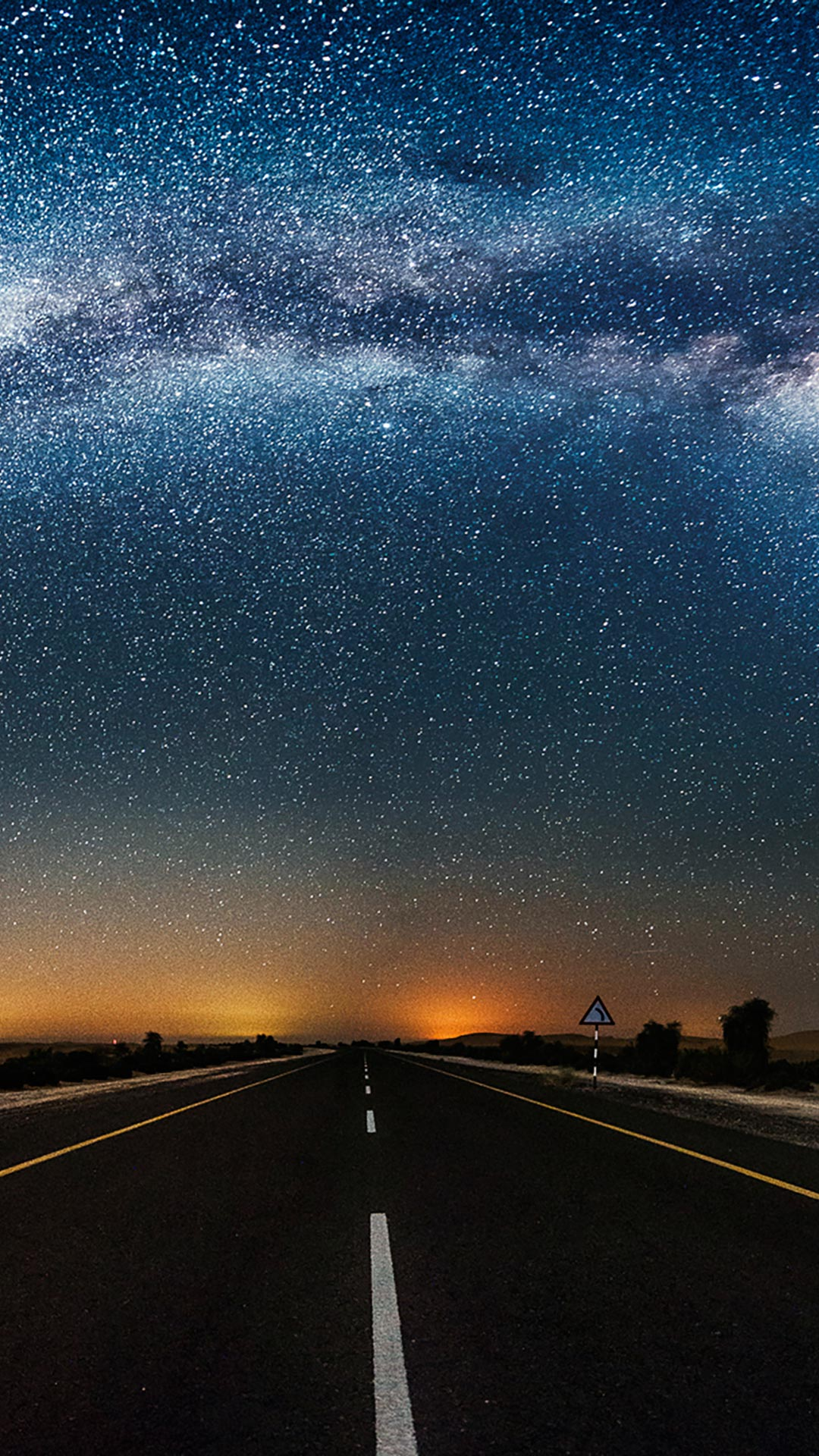 Arc Of Milky Way In A Desert United Arab Emirates