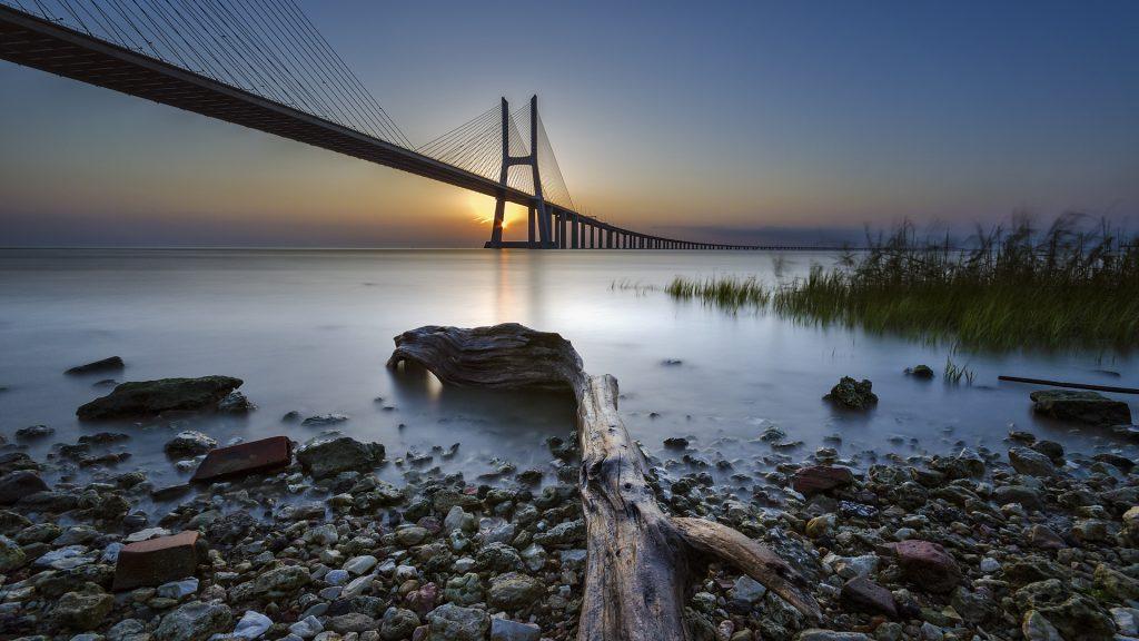 Good Morning Lisbon, Ponte Vasco da Gama, Parque das Nações, Portugal