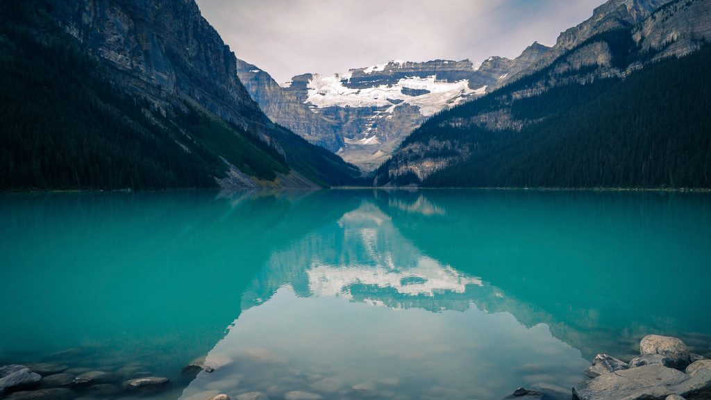 Lake Louise in Banff National Park in Alberta, Canada