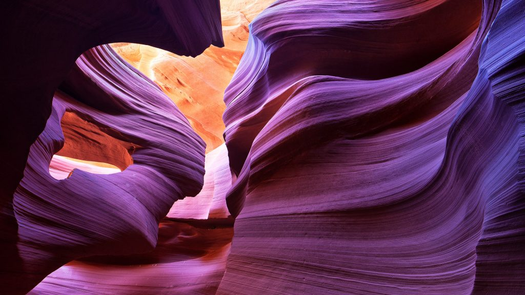 Angel Arch in Antelope Canyon, Arizona, USA