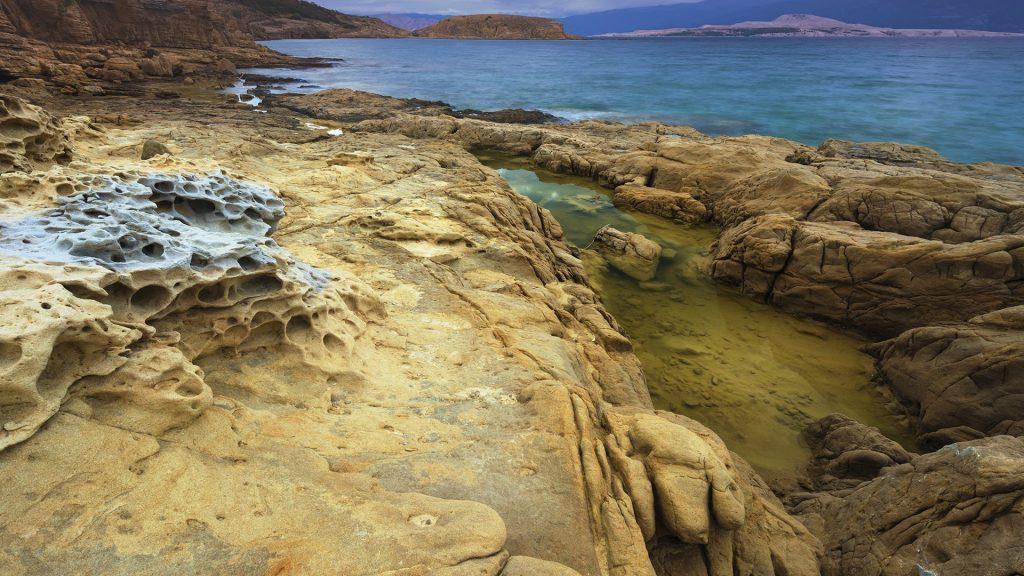 Landscape in Croatia, Rab Island, Lopar