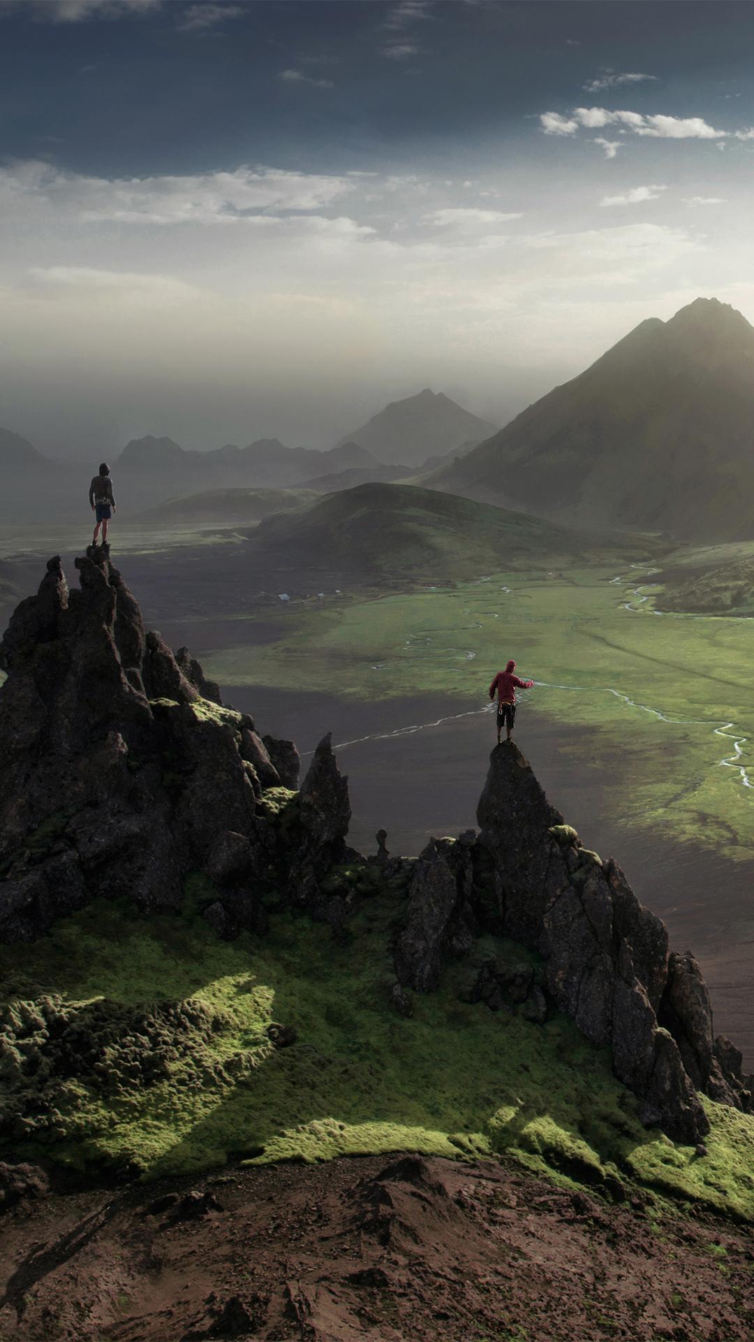 Distant Wonderland Landmannalaugar Iceland Windows Spotlight Images