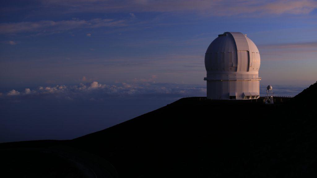 Mauna Kea Observatories on the Big Island of Hawaii, USA