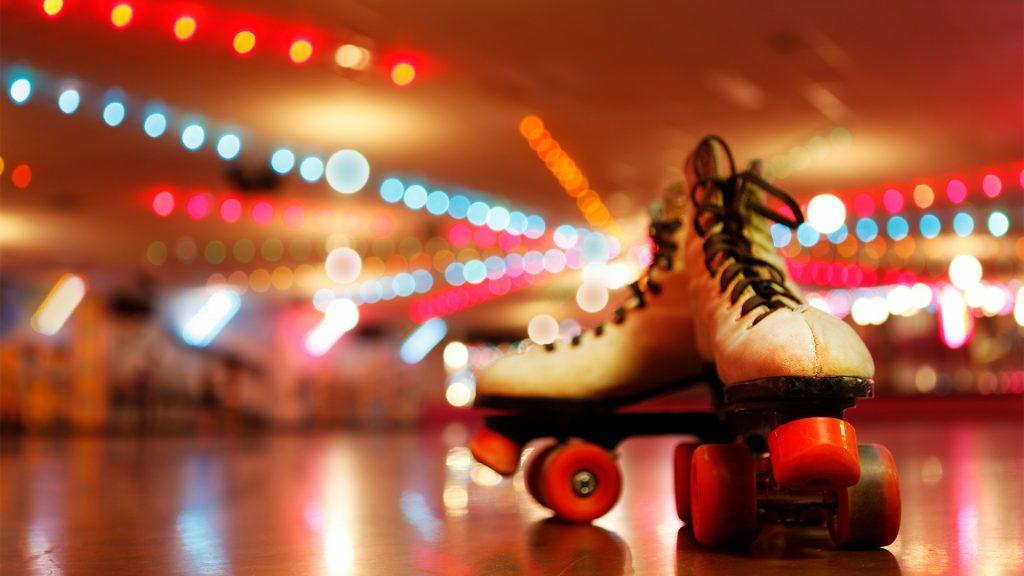 Rollerskates in Roller Disco
