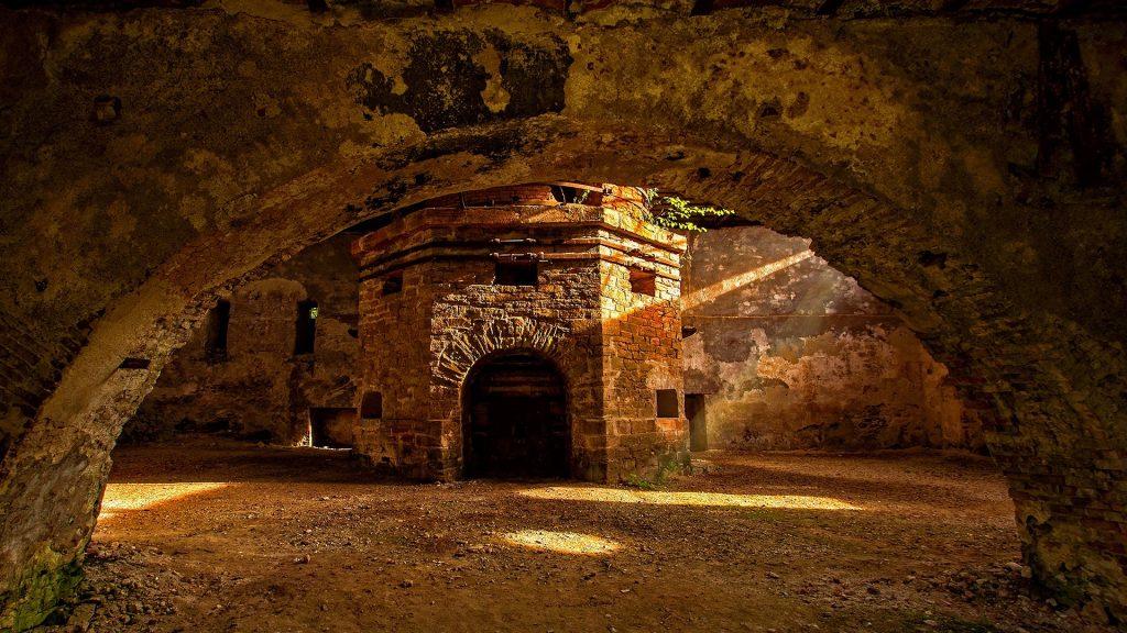 Govăjdia blast furnace, Ghelari, Transylvania, Romania