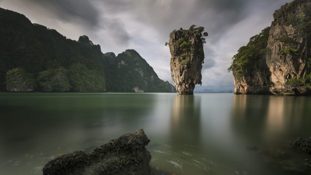 Khao Phing Kan in Phang Nga bay, James bond island, Thailand