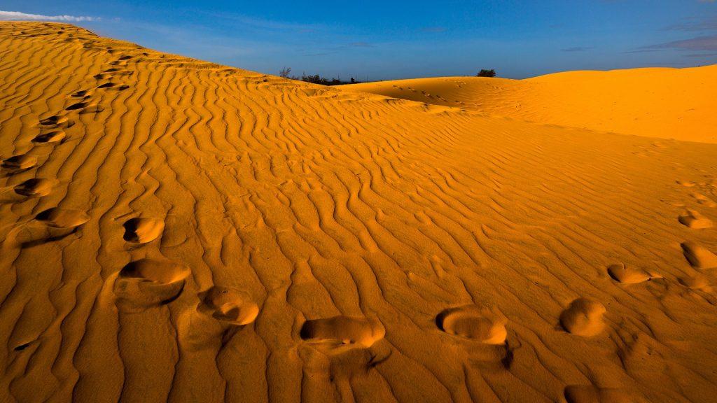 Sand dunes, Mũi Né, Phan Thiết, Vietnam
