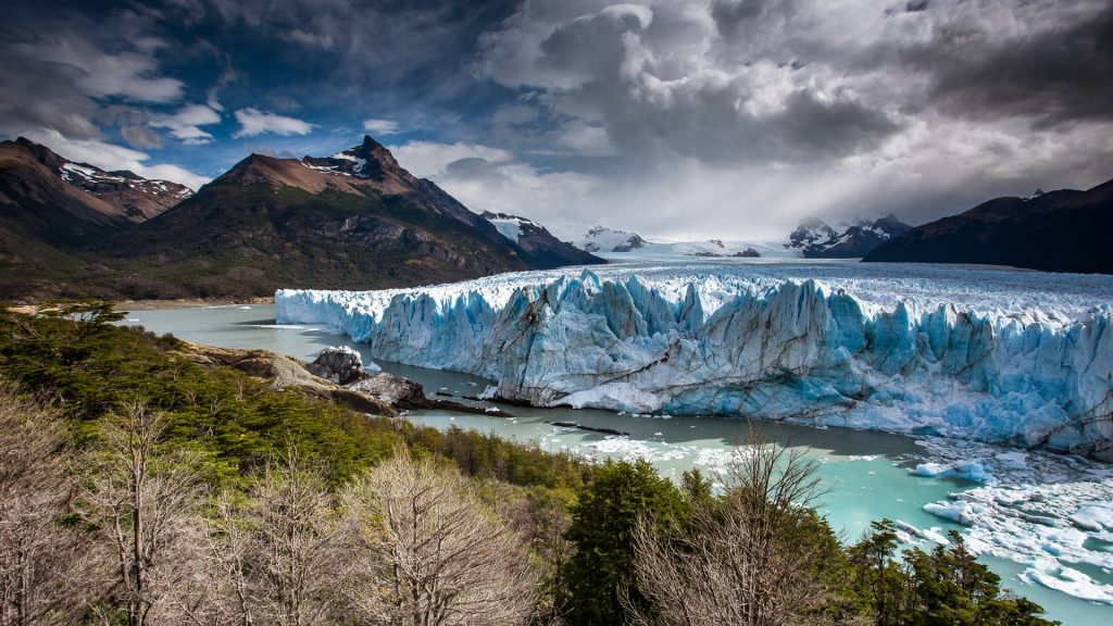 The Perito Moreno Glacier in the Los Glaciares National Park, Argentina