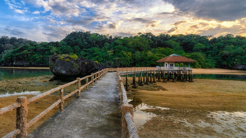 Sunrise at Lidee island in Satun, Thailand