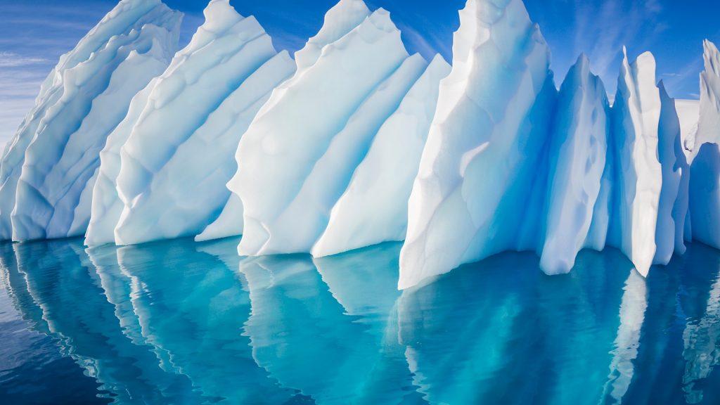 Iceberg in Paradise Harbor, Antarctic Peninsula, Antarctica