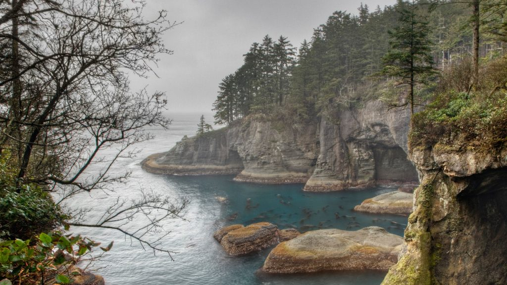 Cape Flattery, Washington, Most Northwest Point of USA