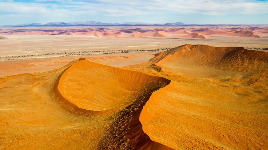 Sand dunes, Deadvlei, Namib-Naukluft National Park, Namibia