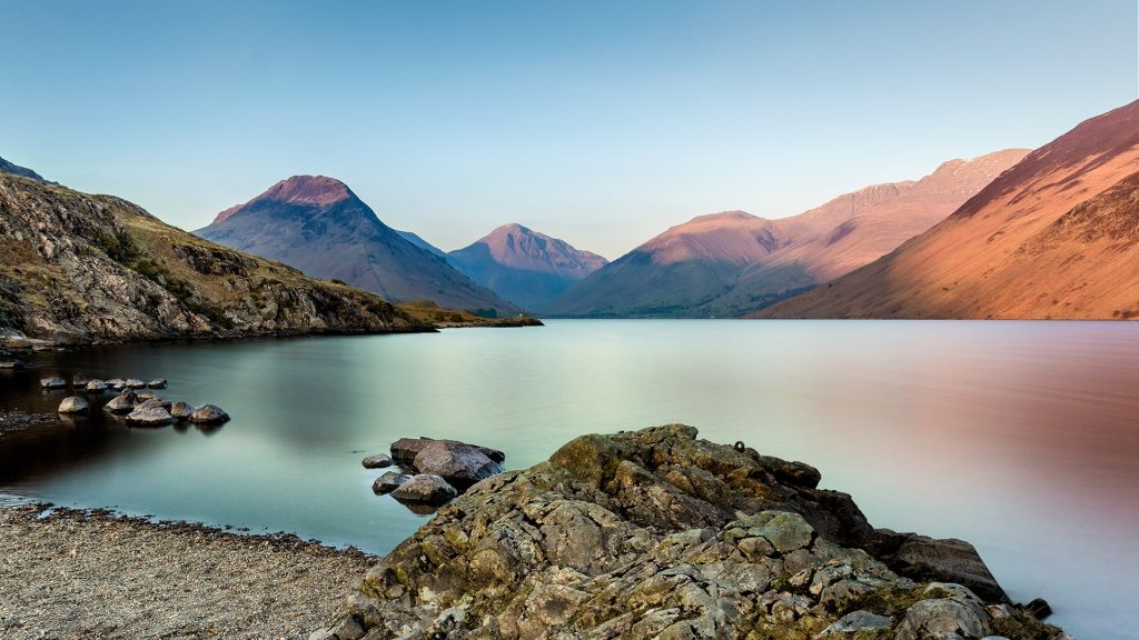 Wast Water, Wasdale, Lake District National Park, England, UK
