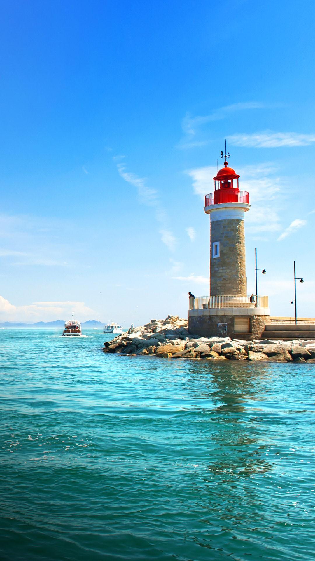 Lighthouse Of Saint Tropez French Riviera C 244 Te D Azur