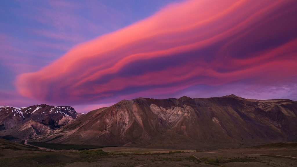Sunset in Esquel, Chubut, Argentina