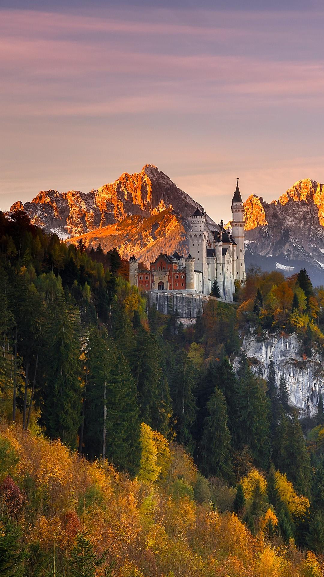 Guardian Of Schwangau Neuschwanstein Castle In Southern