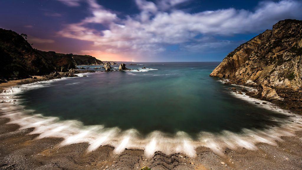 Playa del Silencio, Cudillero, Asturias, Spain