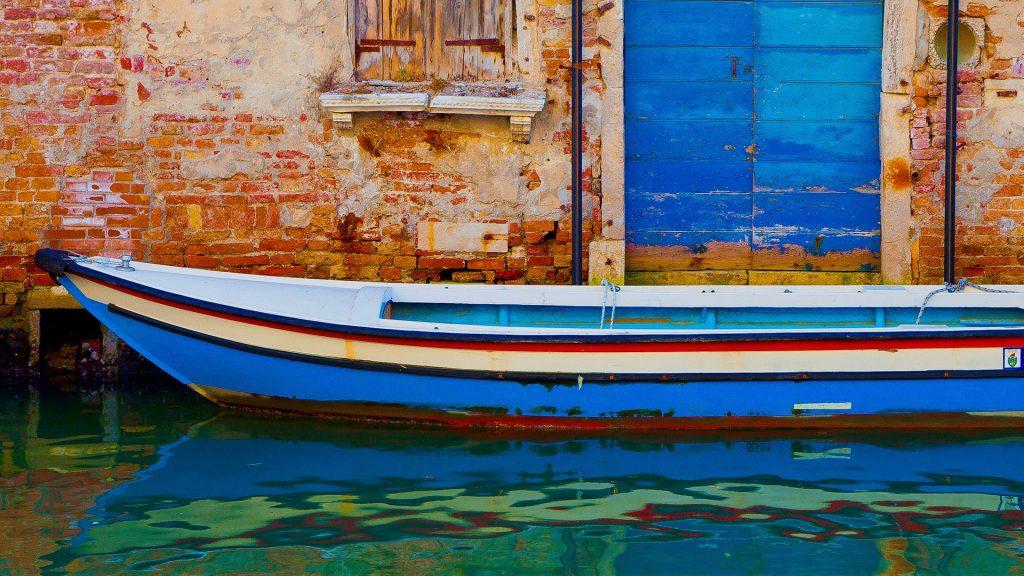 Cannaregio boat, Venice, Italy