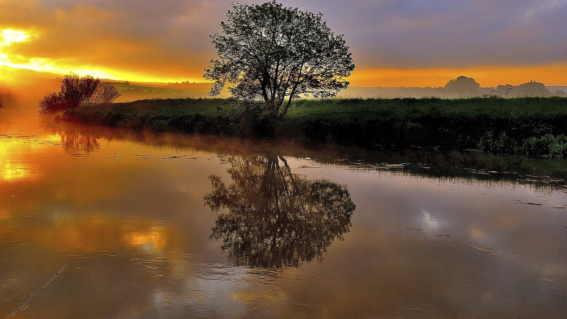 Sunrise Wonder River Arun England UK