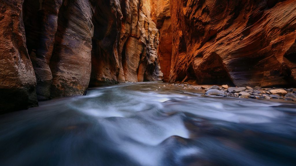 The Narrows at Zion National Park, Utah, USA
