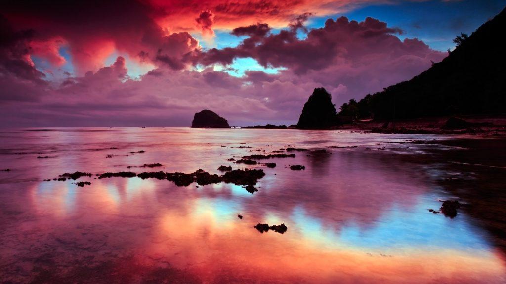 Break of dawn, Baler, Aurora, Philippines