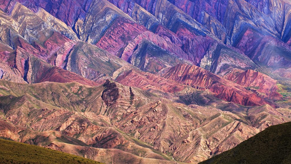 Hornocal, Mountain of fourteen colors, Quebrada de Humahuaca, Northern Argentina