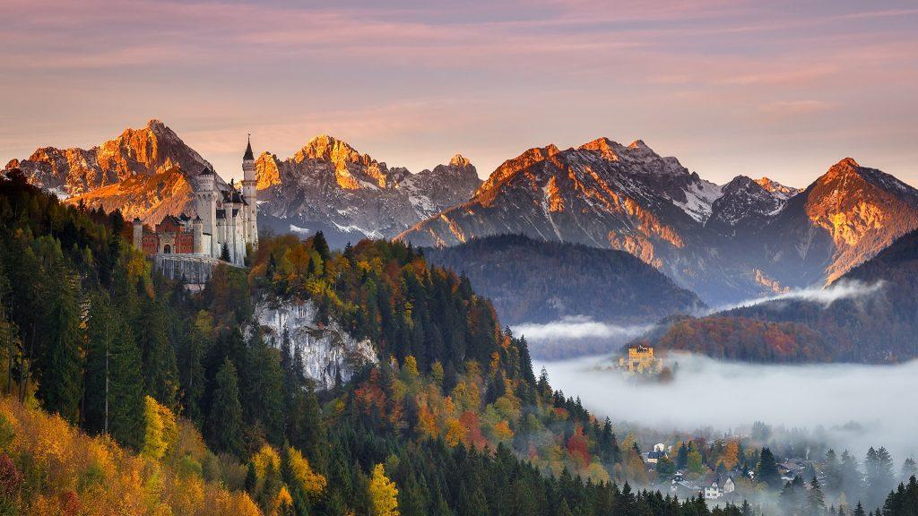 Guardian of Schwangau, Neuschwanstein Castle in southern Bavaria, Germany