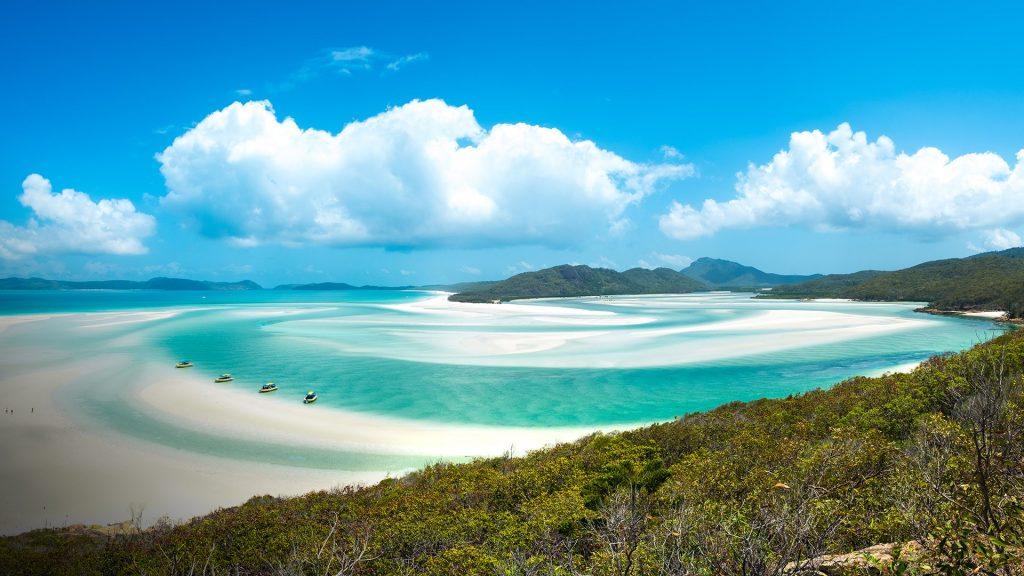 Whiteheaven beach, Whitsunday island, Queensland, Australia