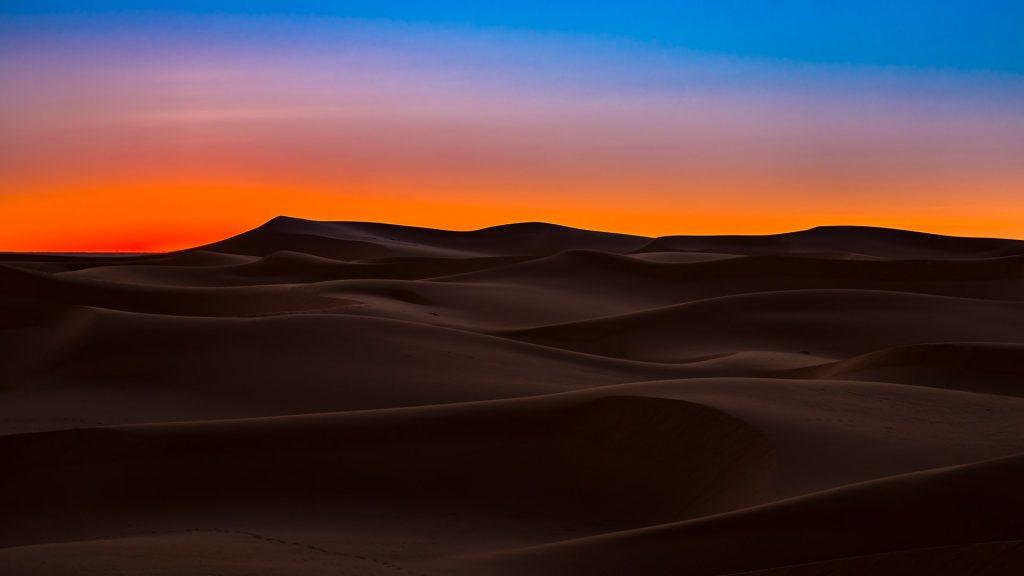 Sahara desert dunes, Ouargla, Algeria