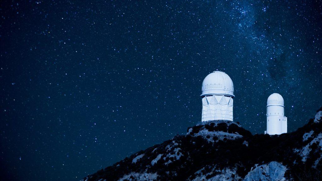 Kitt Peak national observatory on hilltop, Tucson, Arizona, USA
