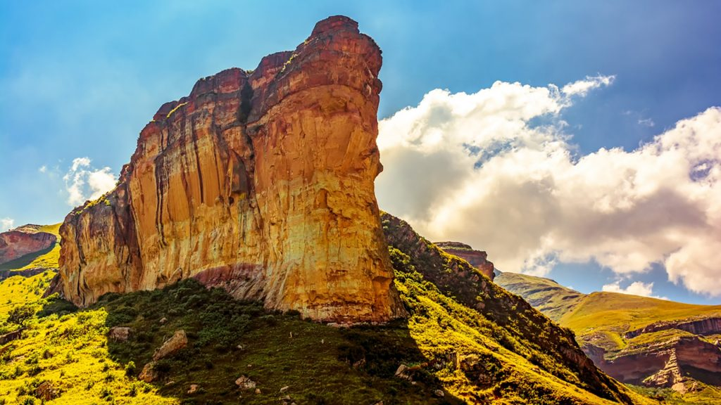 South Africa Drakensberg Golden Gate national park landscape