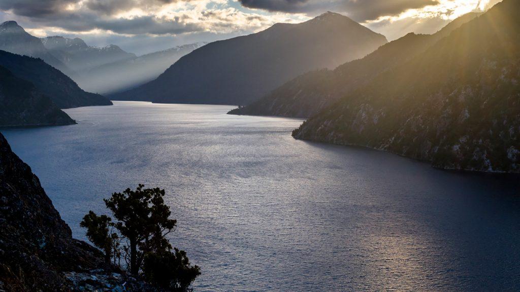 Nahuel Huapi lake in national park, Rio Negro, Patagonia, Andes, Argentina
