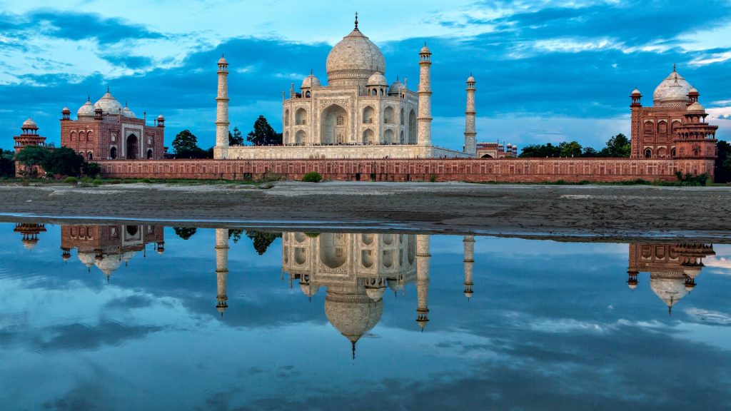 The Taj Mahal - poetry in stone, Agra, India
