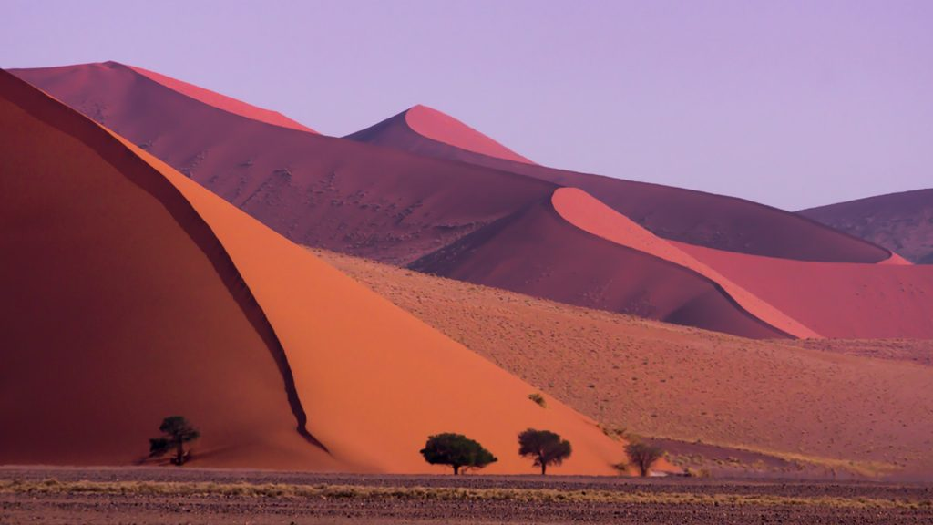 Sossusvlei sand dunes, Tsauchab Valley, Namib-Naukluft National Park, Namibia