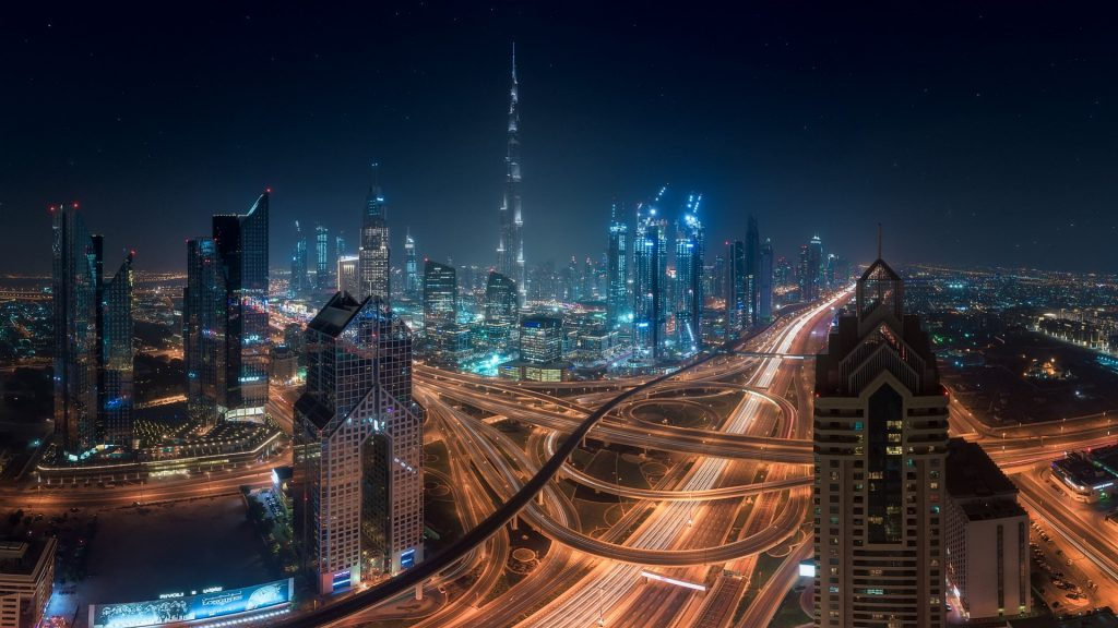 Downtown, Sheikh Zayed Road, Dubai, UAE