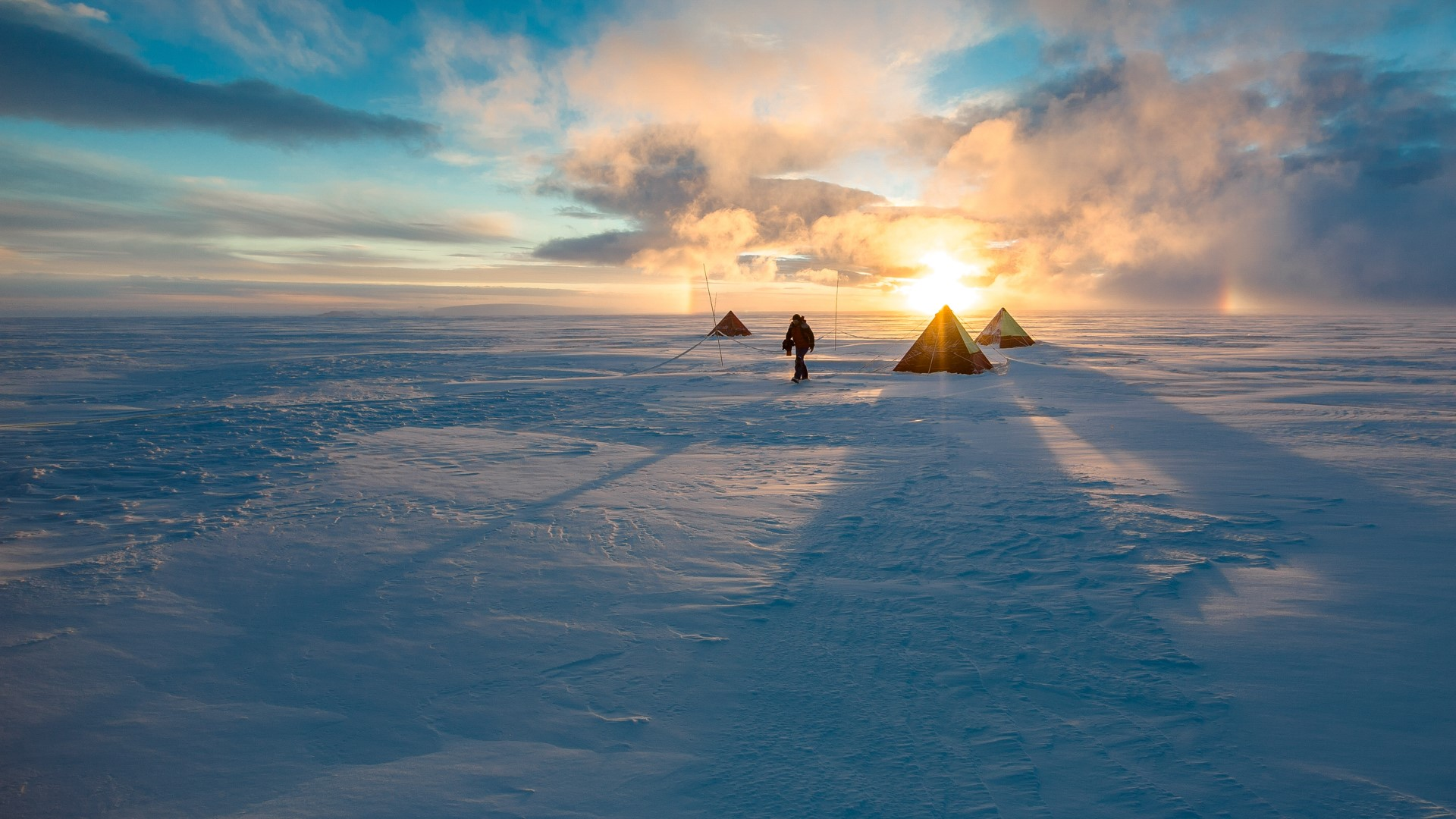 Field Camp In Antarctica Windows 10 Spotlight Images
