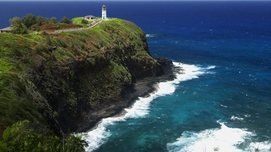 Kilauea Lighthouse, Kilauea Point National Wildlife Refuge, Kauai, Hawaii, USA