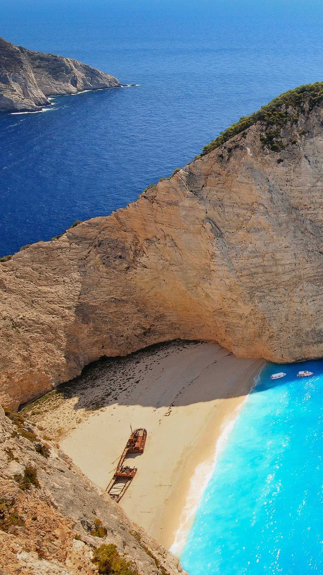 Smugglers Cove And Navagio (Shipwreck) Beach, Zakynthos