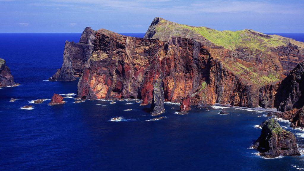 Ponta de São Lourenço, Caniçal, Madeira island, Portugal