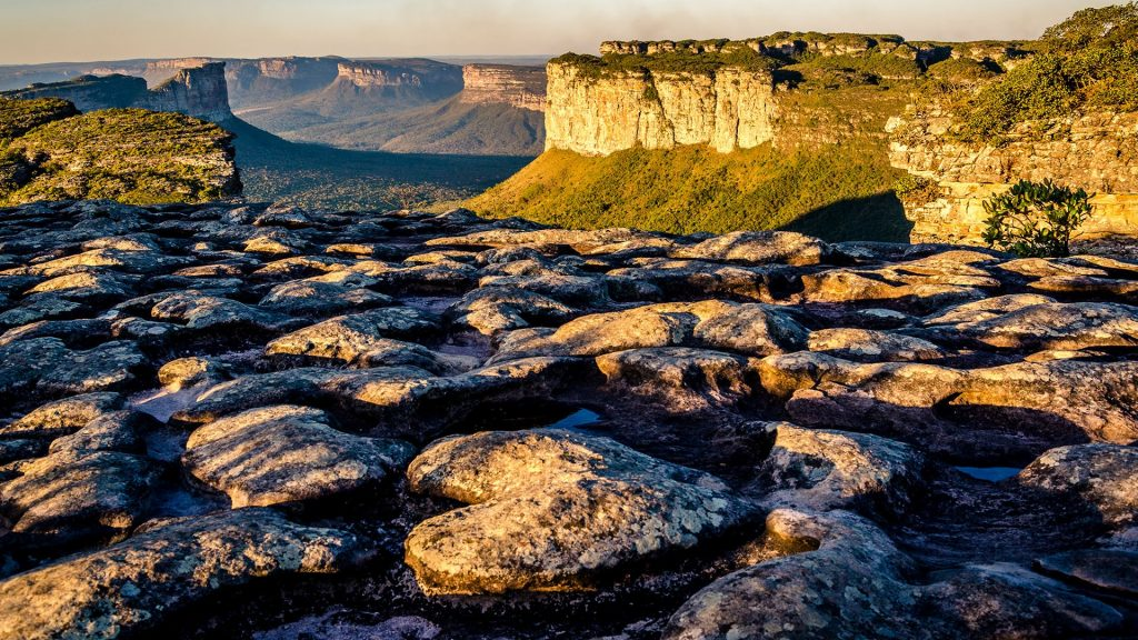 Vale do Capão view from Morro do Pai Inácio, Chapada Diamantina, Bahia, Brazil