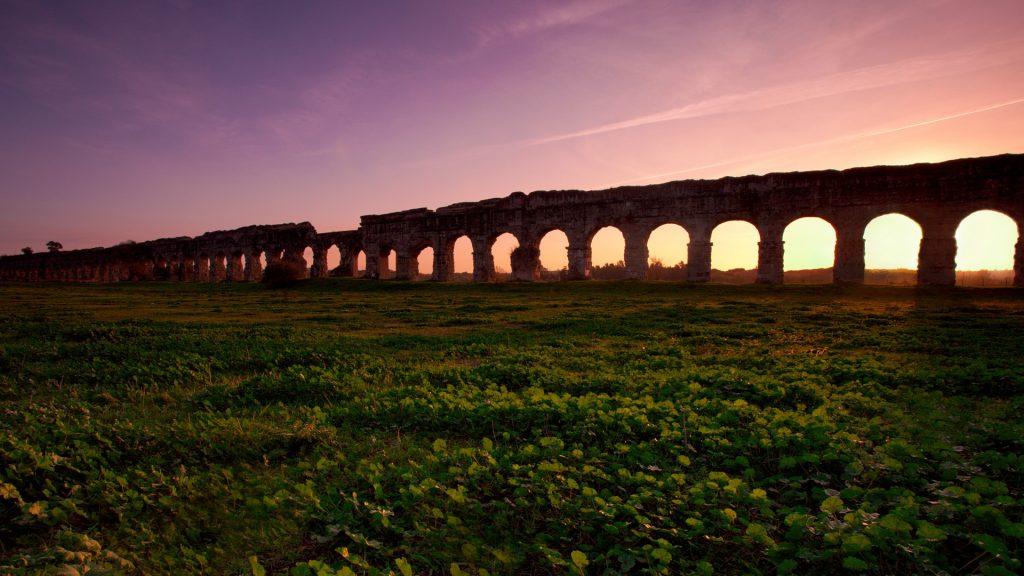 Aqueduct Park, Rome, Italy
