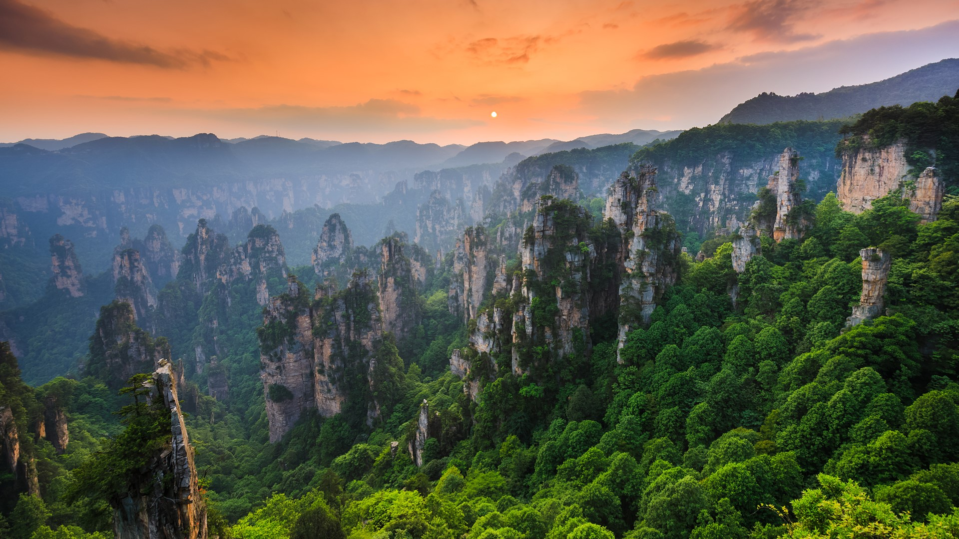 how to get to zhangjiajie national forest park