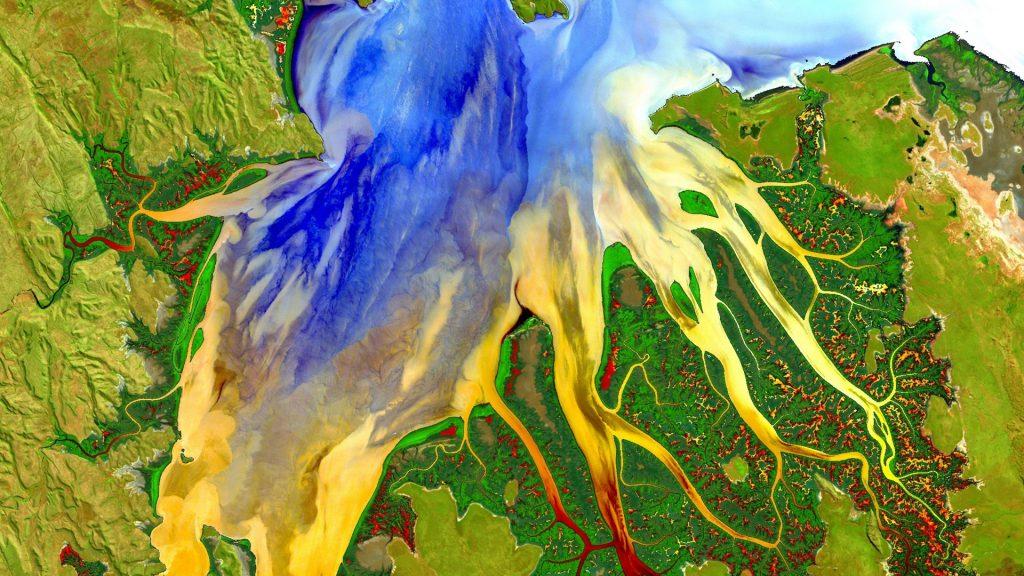 Landsat 8 scene acquired May 12, 2013 in Western Australia