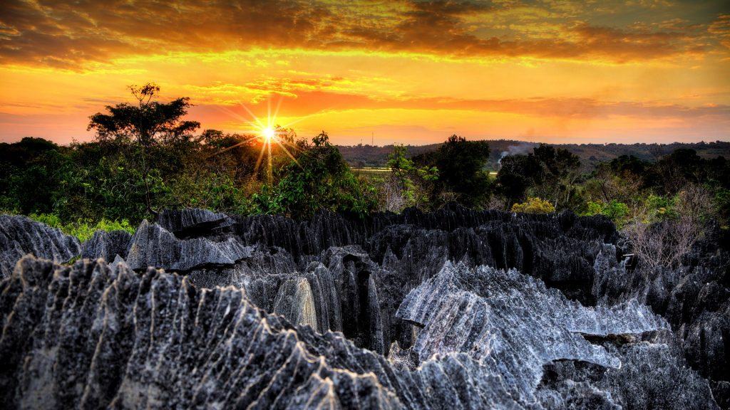 Tsingy de Bemaraha Strict Nature Reserve in Madagascar