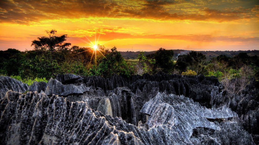 Tsingy de Bemaraha Strict Nature Reserve in Madagascar
