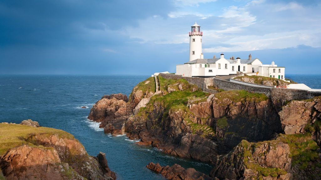 Fanad Head Lighthouse, County Donegal in Ireland
