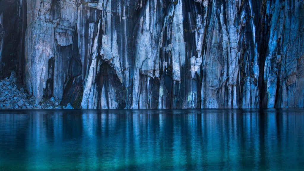 Precipice Lake in Sequoia National Park, California, USA