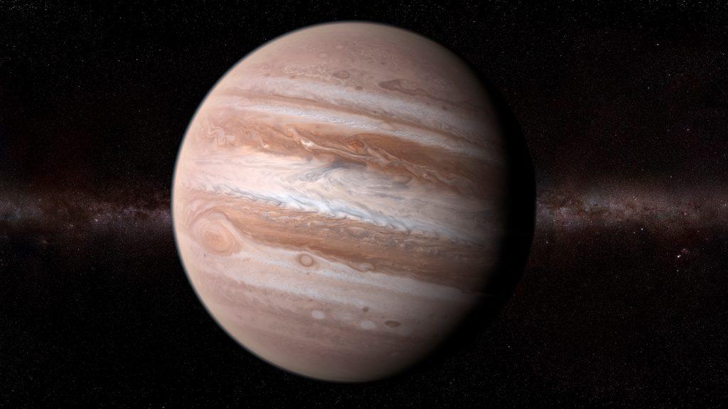 Jupiter planet, computer artwork