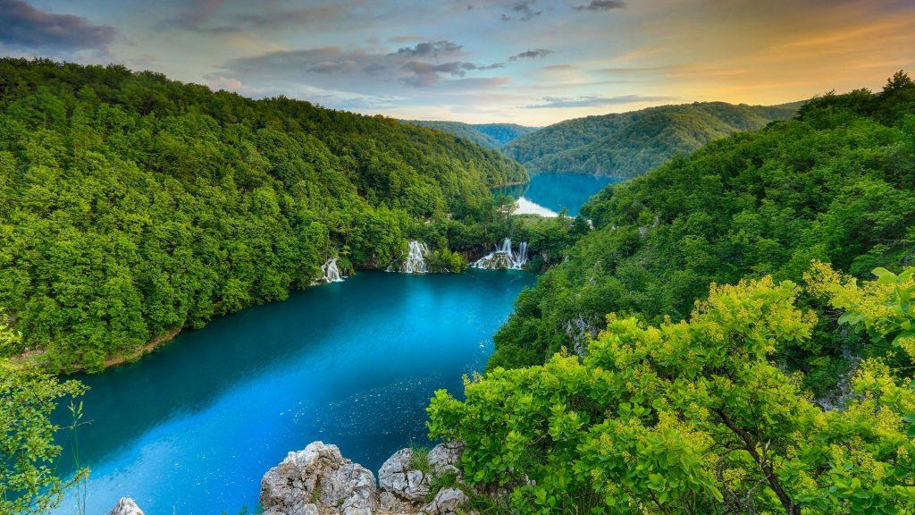 Plitvice Lakes National Park, Plitvički Ljeskovac, Croatia