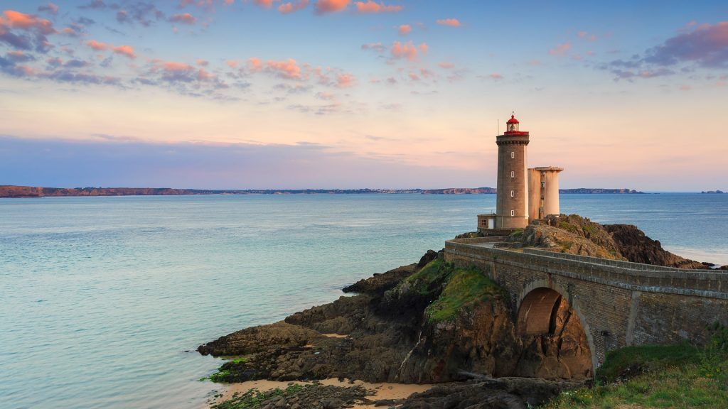 Le Phare du Petit Minou - Minou lighthouse in Finistère, Brittany, France
